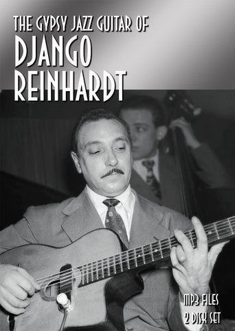 The Guitar Genius of Django Reinhardt - mp3 on 2 CD-ROM