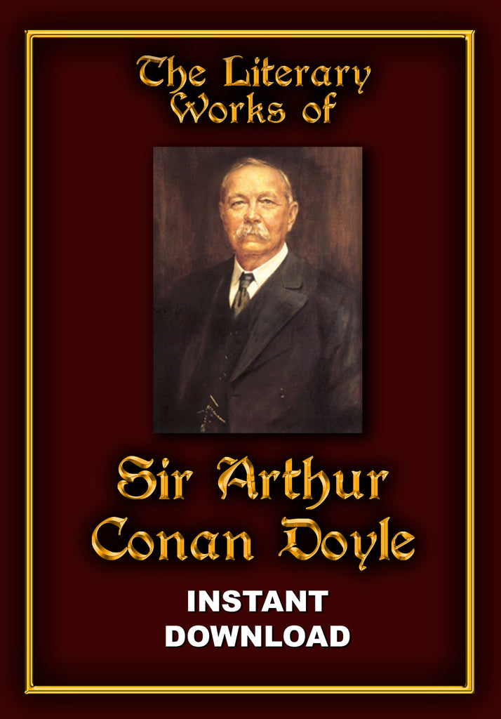 Works of Sir Arthur Conan Doyle - Instant Download - Gene's Weird Stuff