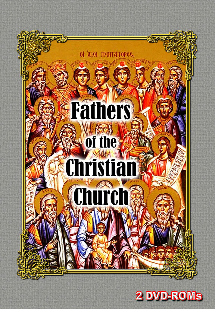 Fathers of the Early Christian Church Fathers 2 DVD-ROM boxed