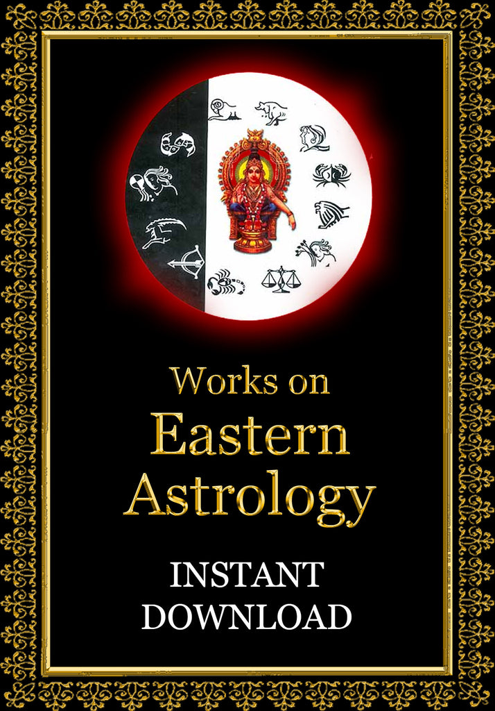 Vedic (Eastern) Astrology - Instant Downlod - Gene's Weird Stuff