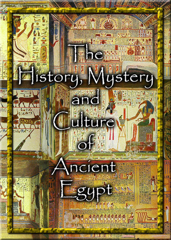 Egyptian History, Mystery & Culture - 2 DVD-ROM shrink wrapped boxed