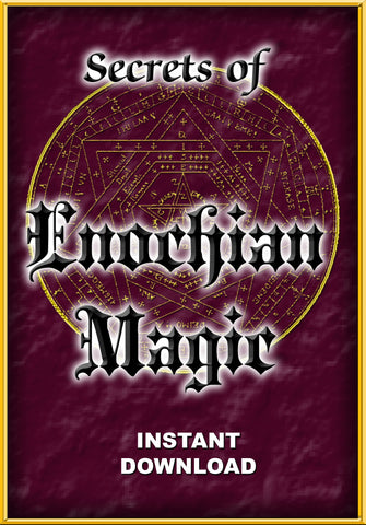 Secrets of Enochian Magic - instant download - Gene's Weird Stuff