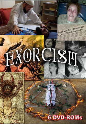 Exorcism, Casting Out Demons -  documents and multimedia - 6 DVD-ROM  boxed