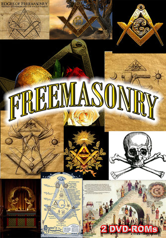 The History and Mystery of Freemasonry Revealed - 2  DVD-ROM boxed