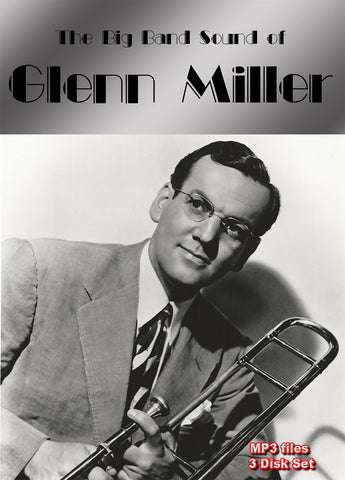 The Big Band Sound of Glenn Miller - mp3 on 3 DVD-ROMs boxed