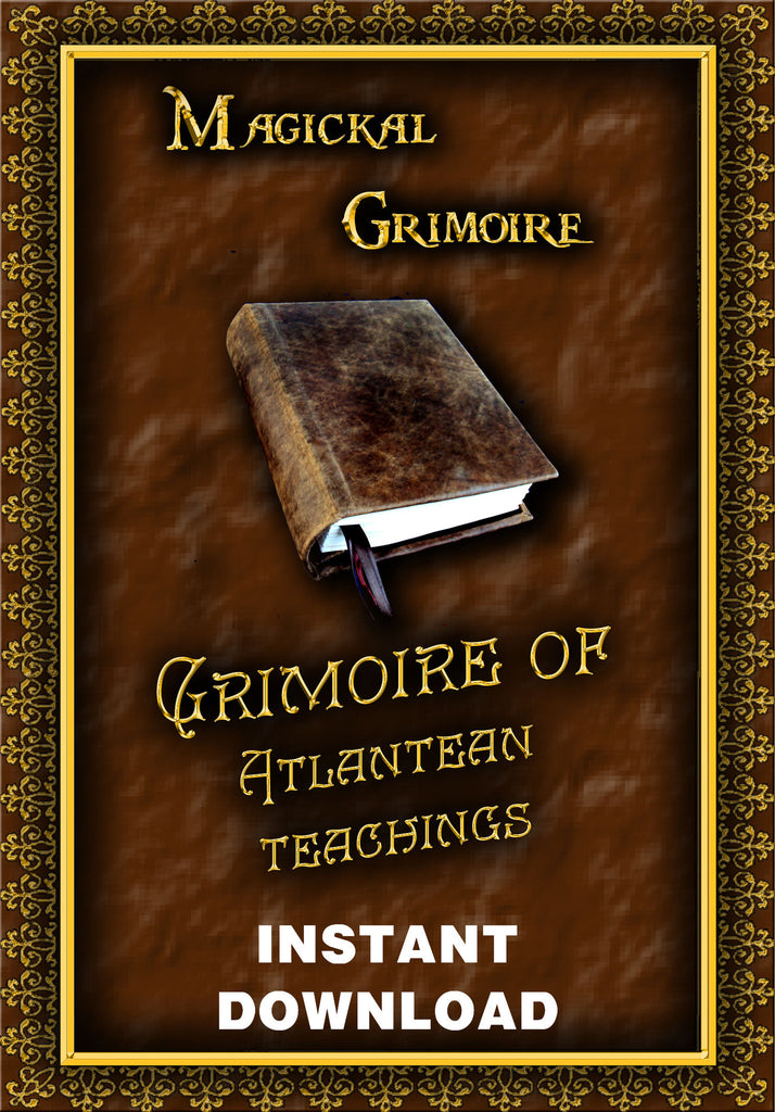 The Grimoire of Atlantean Teachings - Instant Download - Gene's Weird Stuff