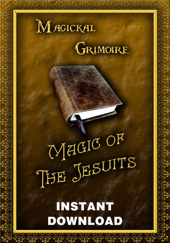 Magic of the Jesuits - Verum Jesuitum Libellus - Zietz, S. -Instant Download - Gene's Weird Stuff