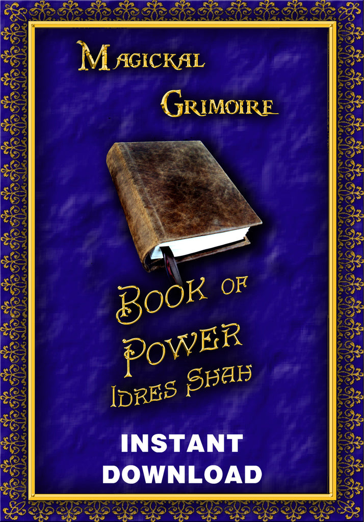 The Book of Power - Idres Shah - Instant Download - Gene's Weird Stuff
