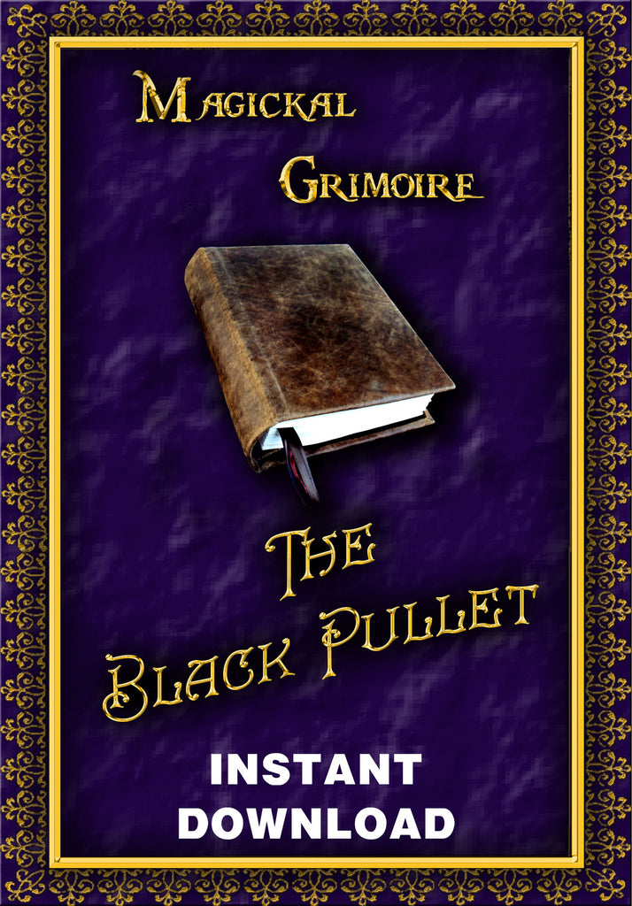 The Black Pullet - Instant Download - Gene's Weird Stuff