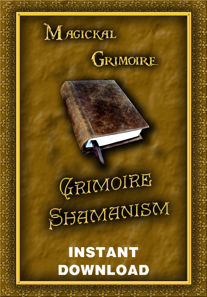 Grimoire Shamanism - Instant download - Gene's Weird Stuff
