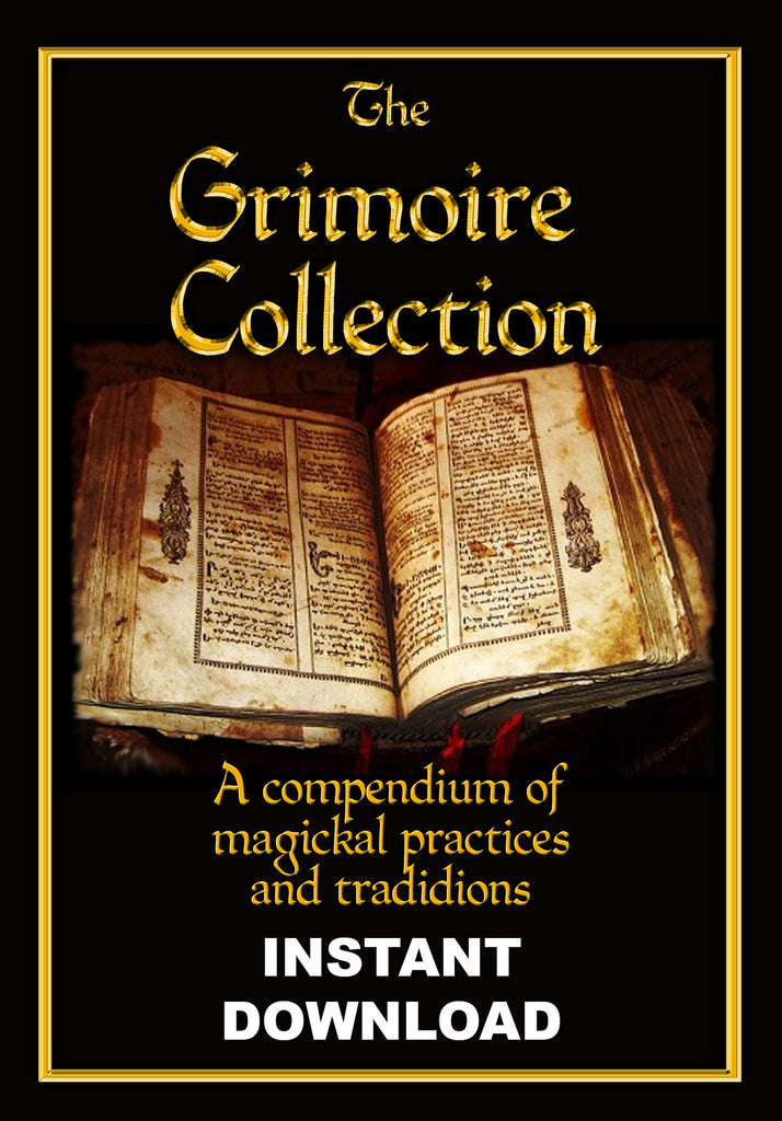 Grimoire Collection - agrippa, enochian, solomonic, much more - Instant download - Gene's Weird Stuff
