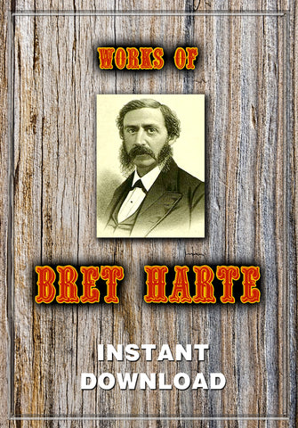 The Works of Bret Harte - Instant Download - Gene's Weird Stuff