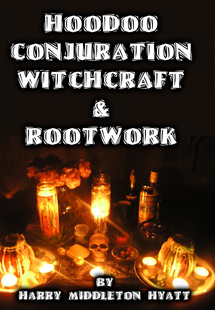 Hoodoo Conjuration Witchcraft Rootwork -Vols. 1-5 - HM Hyatt - 2 disks boxed