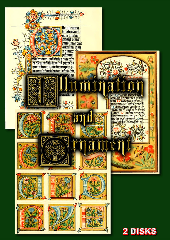 The Arts of Illumination and Ornament 2 DVD-ROM boxed