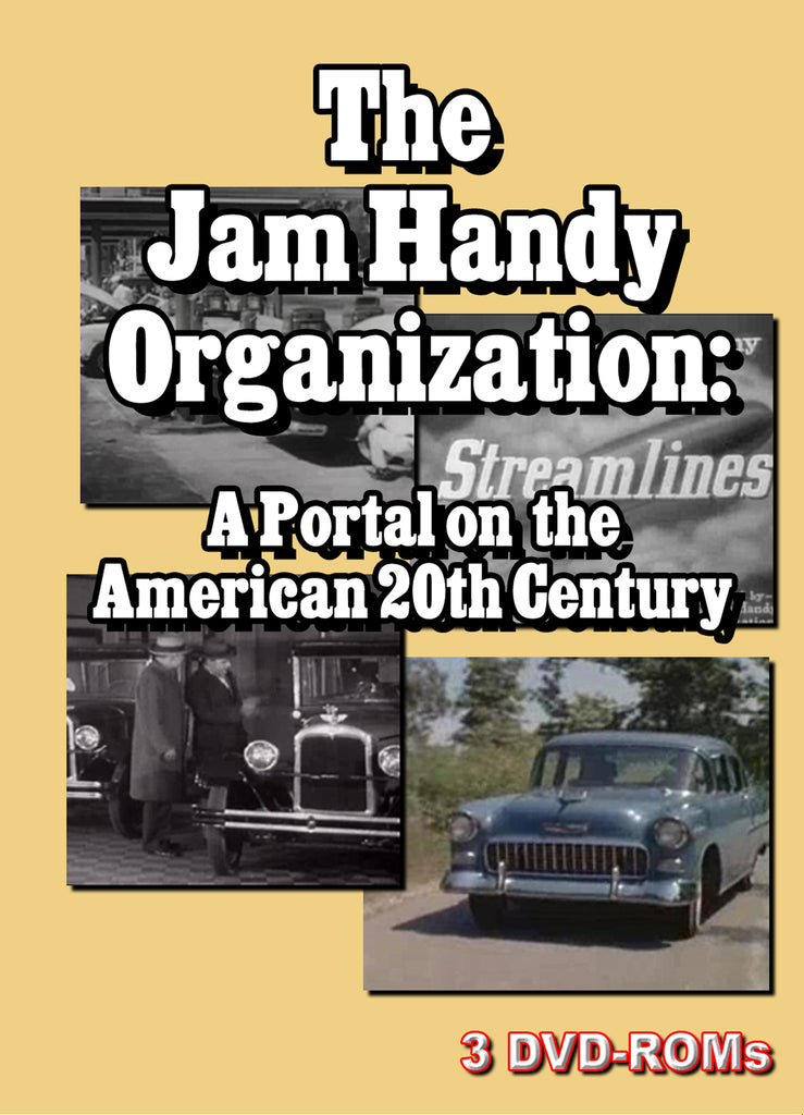 Jam Handy Industrial Films - The American 20th  Century on 3  DVD-ROMs