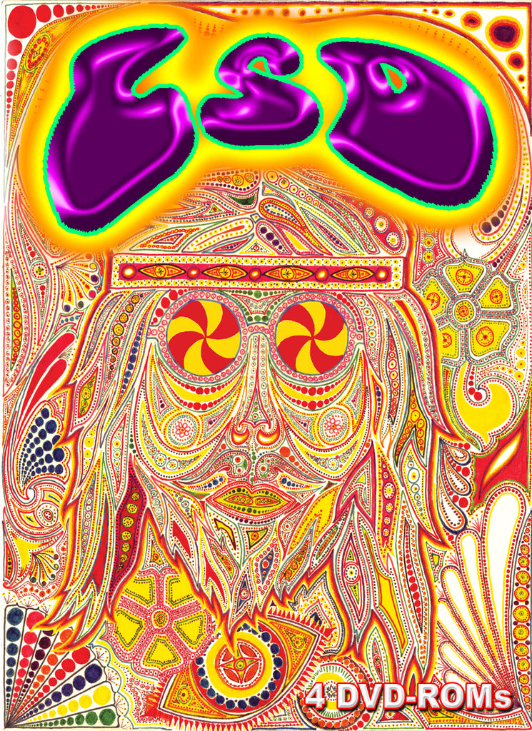 LSD history & usage of the 20th century's most controversial chemical  BANNED FROM EBAY 4 DVD-ROM