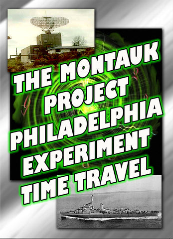 Montauk, The Philadelphia Experiment, Time Travel 3 DVD-ROMS
