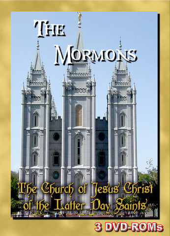 Church of Jesus Christ of the Latter Day Saints - The Mormons - 3 DVD-ROMs boxed