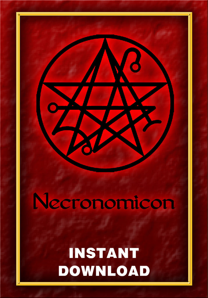 The Necronomicon - Instant Download - Gene's Weird Stuff