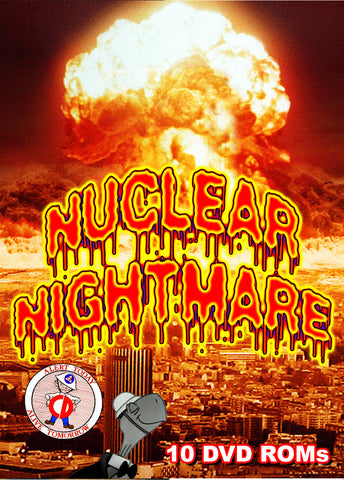 The Nuclear Nightmare of The Cold War  10 DVD-ROM boxed set