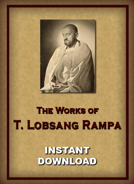 Lobsang Rampa - Tibetan Occultism  - Instant download - Gene's Weird Stuff