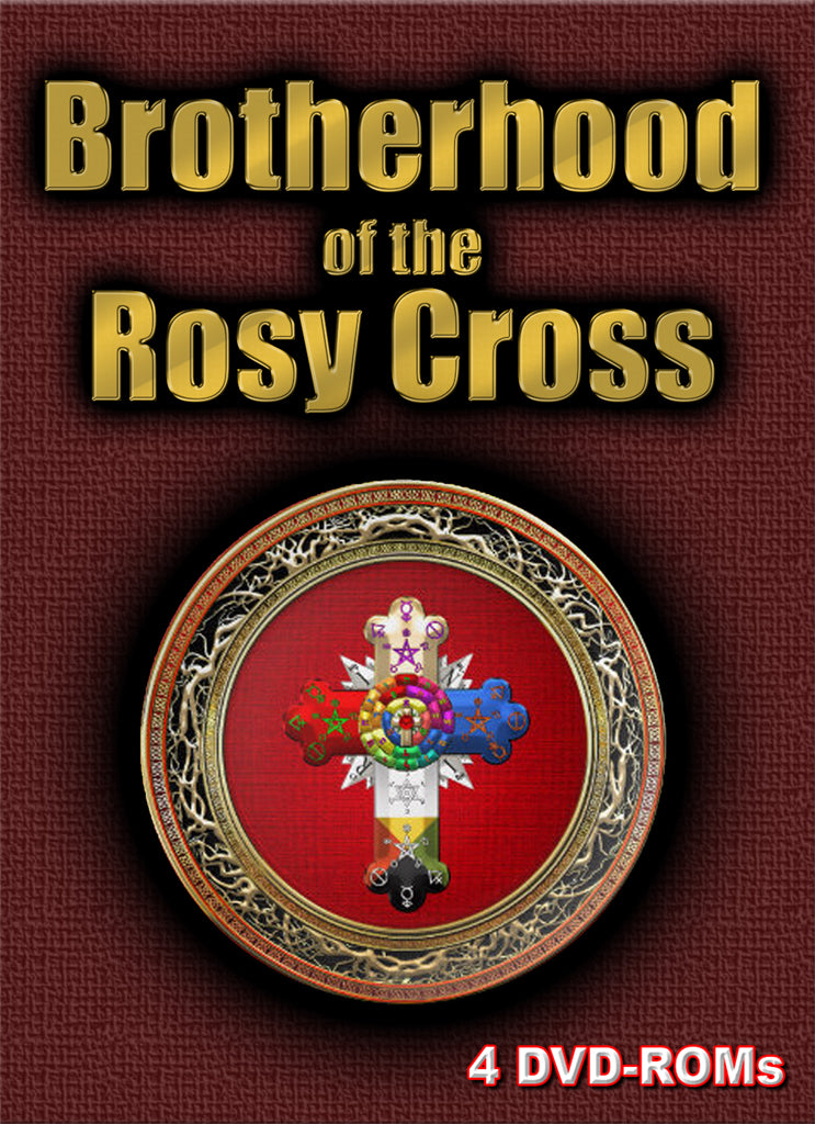 The Rosicrucians - Brotherhood of the Rosy Cross - 4 DVD-ROM boxed