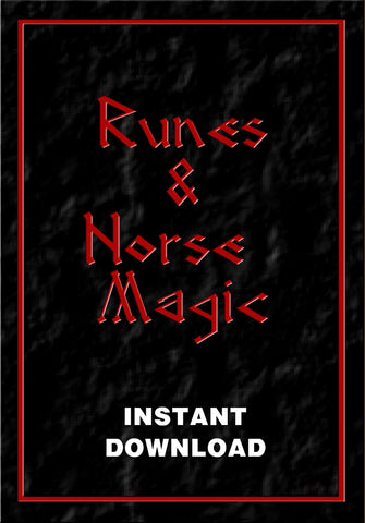 Runes & Norse Magic - Instant Download - Gene's Weird Stuff