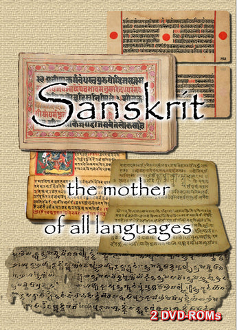 Sanskrit  Instruction and Texts - 2 DVD-ROM boxed