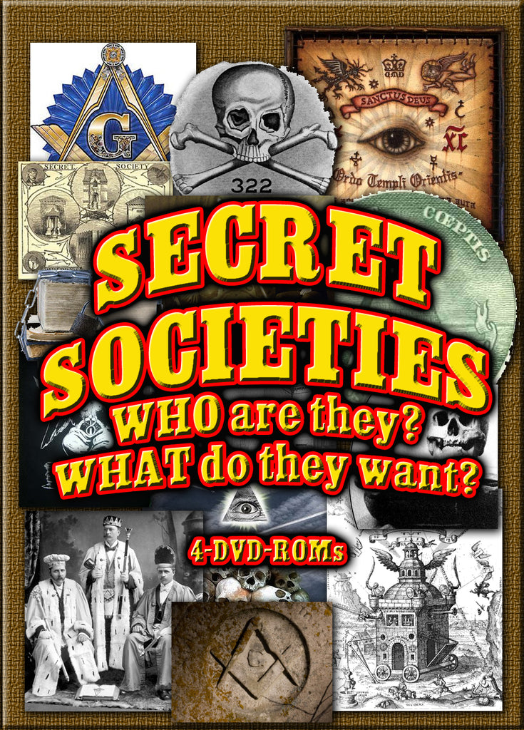 Secret Societies  4 DVD-ROMs boxed