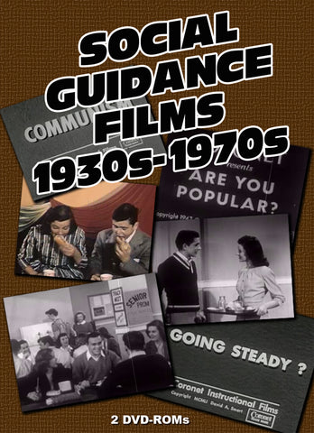American Social Guidance 166 Films 1930s-70s 2 DVD-ROM boxed