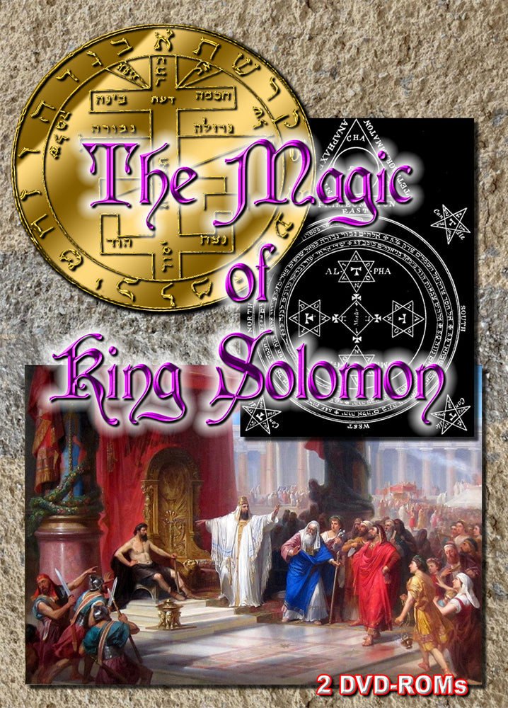 The Magic of King Solomon - 2 DVD-ROM boxed