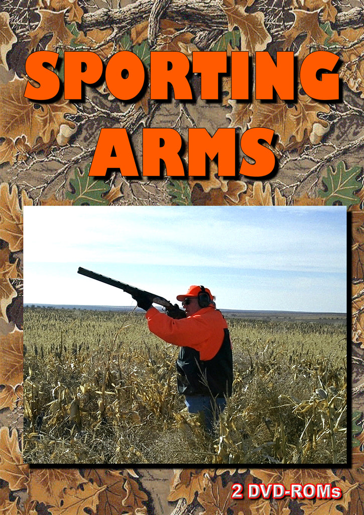 Sporting Arms - library of reference materials 2 DVD-ROM digital library boxed