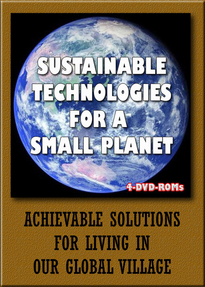 Sustainable Technologies for a small planet -  4 DVD-ROMs - 1097 titles  boxed