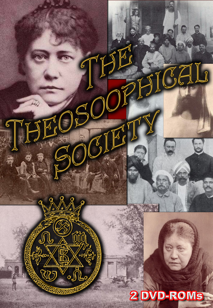 The Theosophical Society - Theosophical Writers & Publications - 2 DVD-ROM boxed