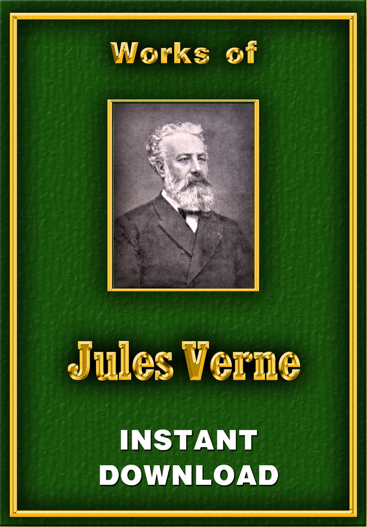 Jules Verne - Instant Download - Gene's Weird Stuff