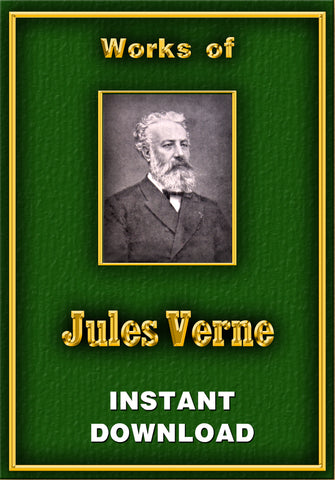 The Science Fiction of Jules Verne - Instant Download - Gene's Weird Stuff