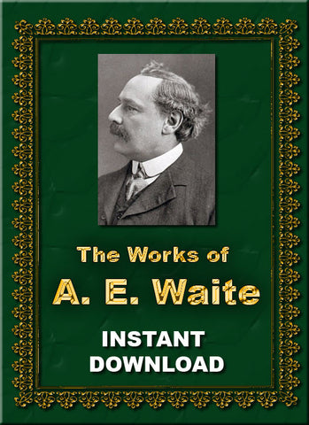 The Occult Writings of Arthur Edward Waite - Instant Download - Gene's Weird Stuff
