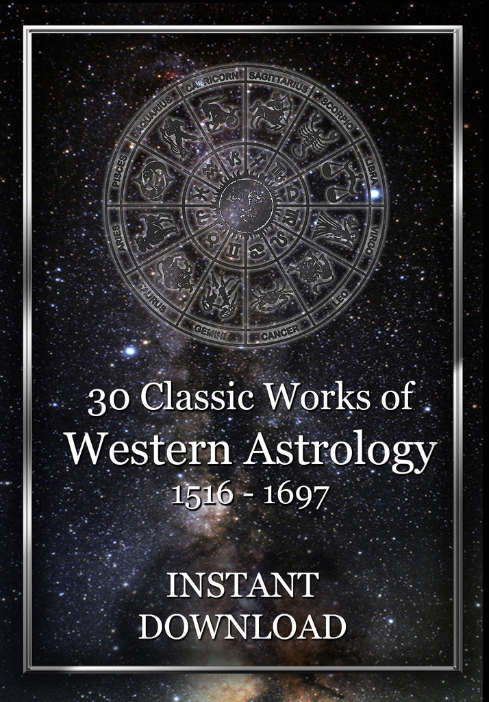 Thirty Classic Works of Western Astrology 1516-1697 -- Instant Download - Gene's Weird Stuff