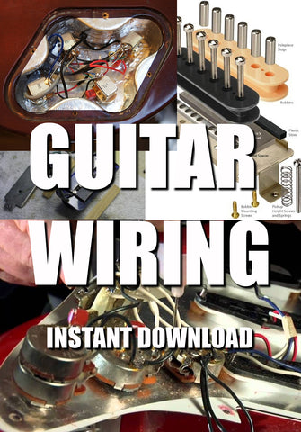 Guitar Wiring Schematics & Diagrams - luthier tool - instant download