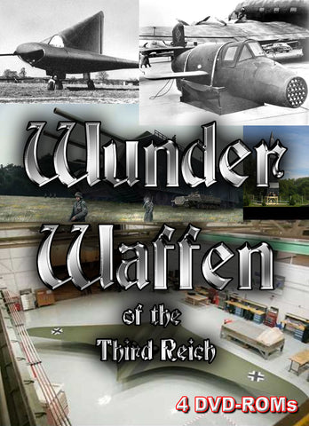 Nazi Wunderwaffen - Wonder Weapons of the Third Reich - 4 DVD-ROM boxed