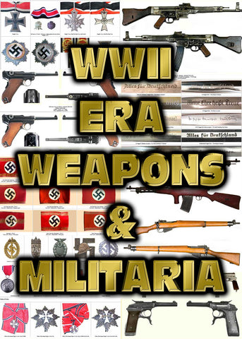 WWII Weapons & Militaria - Instant Download