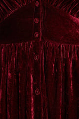 Punch Bowl Velvet Dress