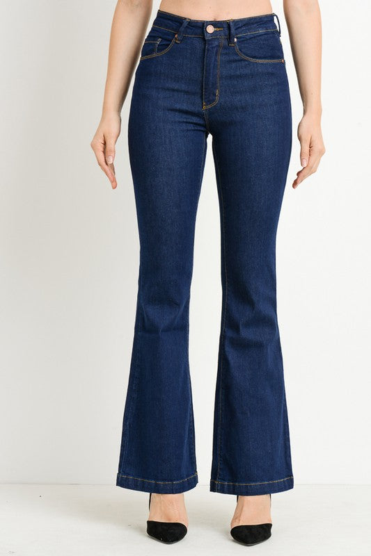 C'est Toi High Waist Flare Denim