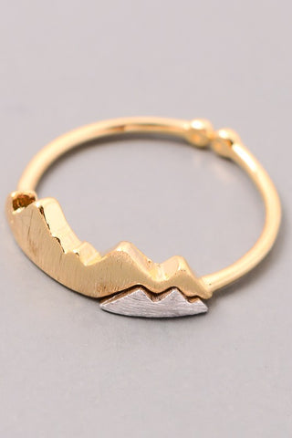 Gold Mountain Ring