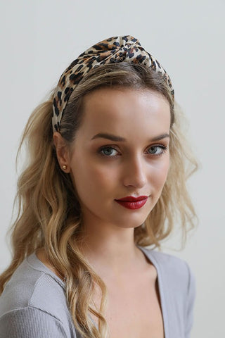 Leopard Twisted Headband