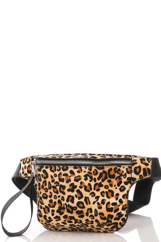 Small Leopard Fanny Pack