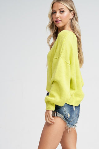 Highlighter Sweater