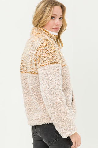 Zip Fleece Sweater