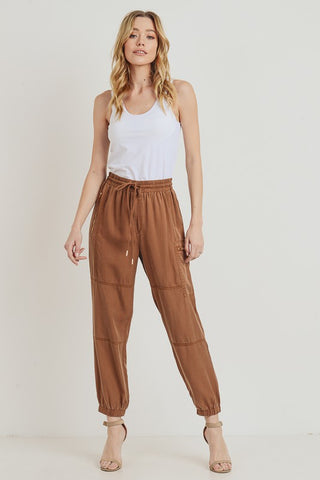 Tencel Jogger Pants