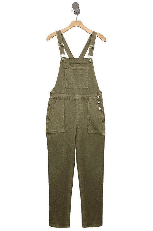 Stretch Twill Overalls